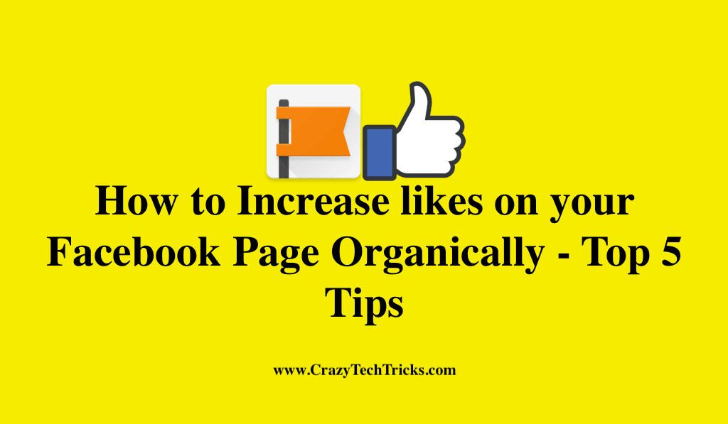 How to Increase likes on your Facebook Page