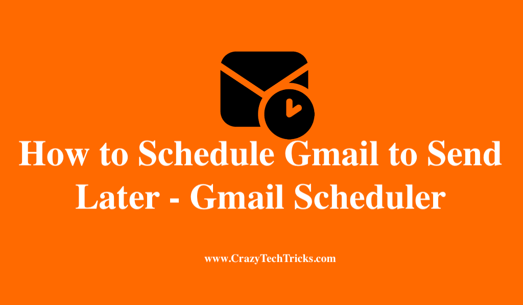 How to Schedule Gmail to Send Later