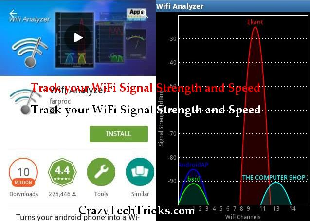 Track WiFi Signal Strength and Speed