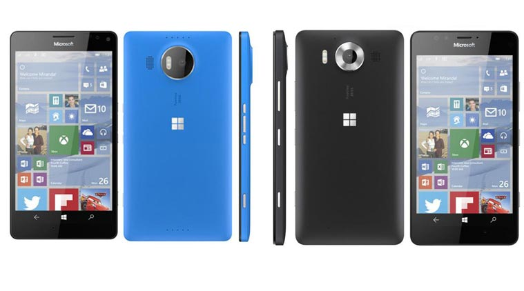 Microsoft Lumia 950 And 950 XL.
