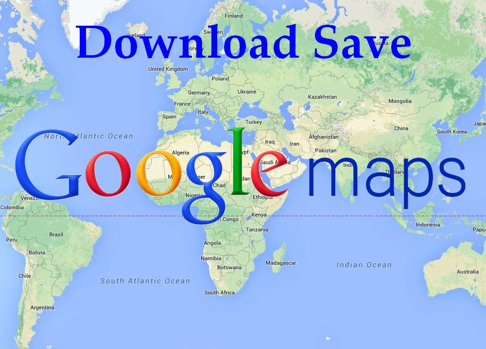 save Google Maps for offline use