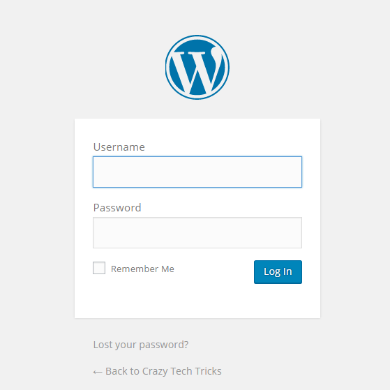 how to login to your wordpress account