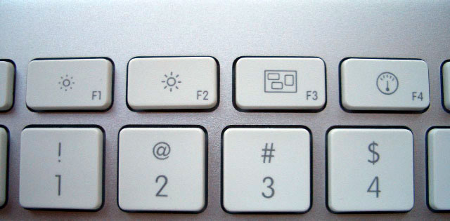 How to Adjust Mac's screen Brightness Manually using iMac keyboard