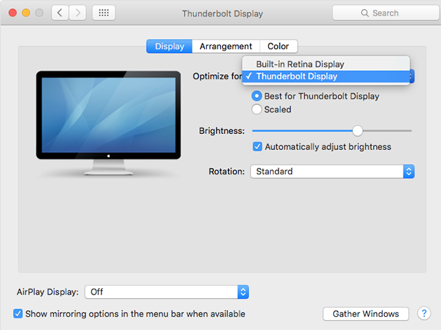 How to adjust Mac's Screen Brightness Automatically