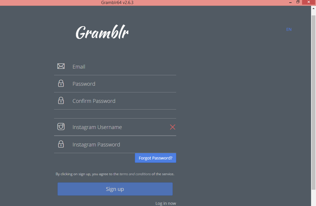 Download and Install Instagram on your Mac or Windows or PC or Laptop using Gramblr