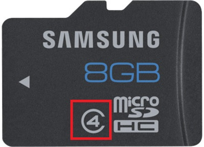 class 4 Micro-SD card