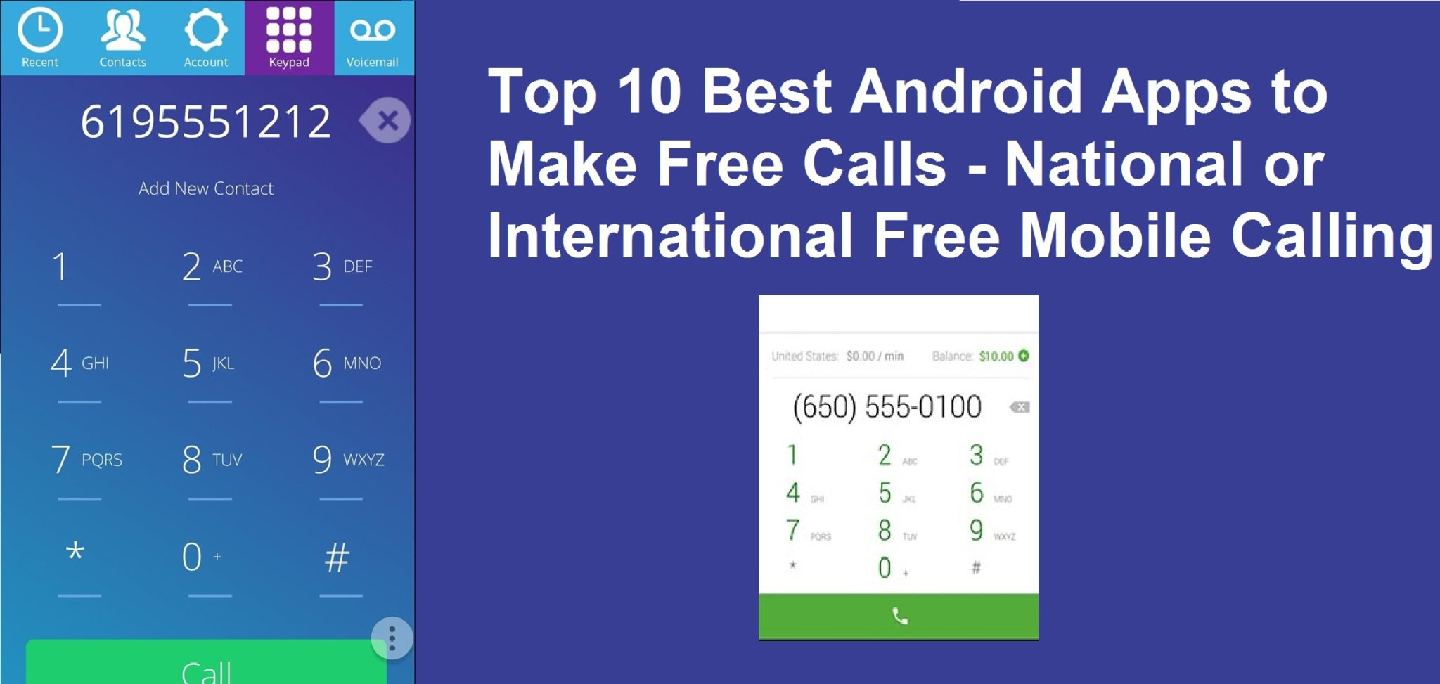 Best option for international calls