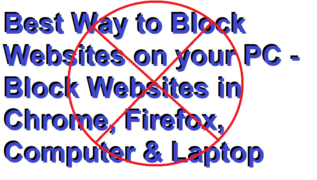 block a website from all broswer at once