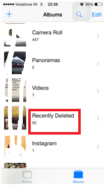 find deleted photos on iphone and Recover Deleted Photos in iPhone