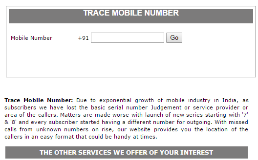 Tracephonenumber to Track Mobile Number - Trace Mobile Number with Owner Name and Address