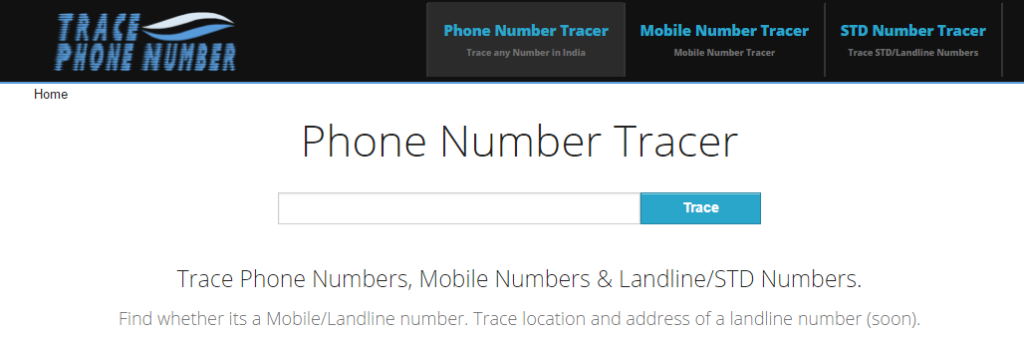 Tracephonenumber,in to Track Mobile Number - Trace Mobile Number with Owner Name and Address