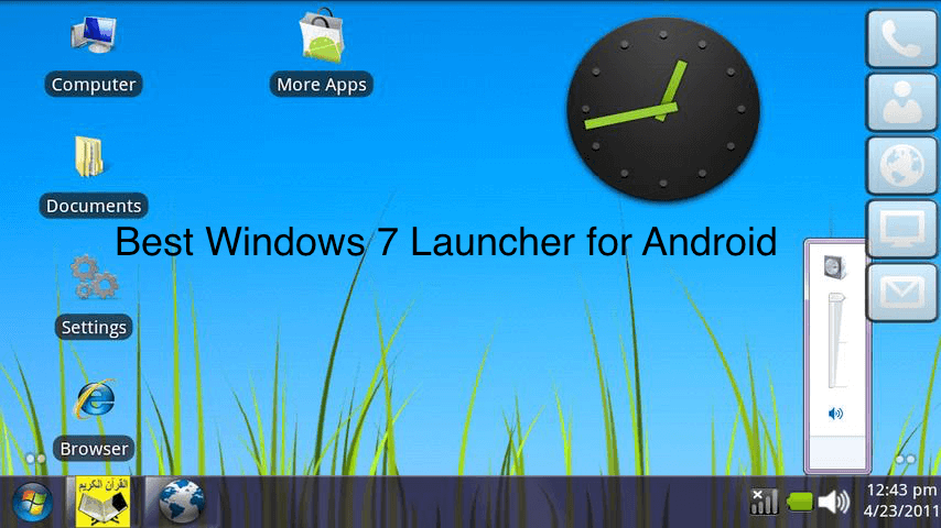 How to Get Windows 7 launcher for Android