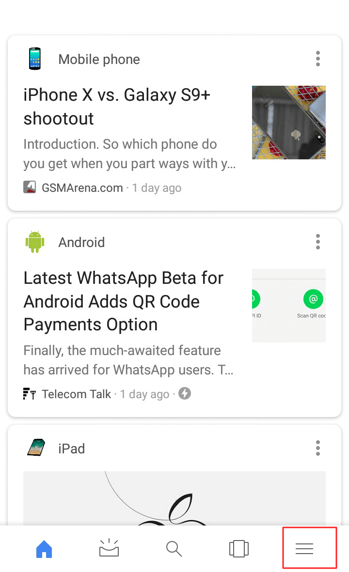 Google App, click on the Menu icon. - How to Turn on Google Assistant on Android Phone