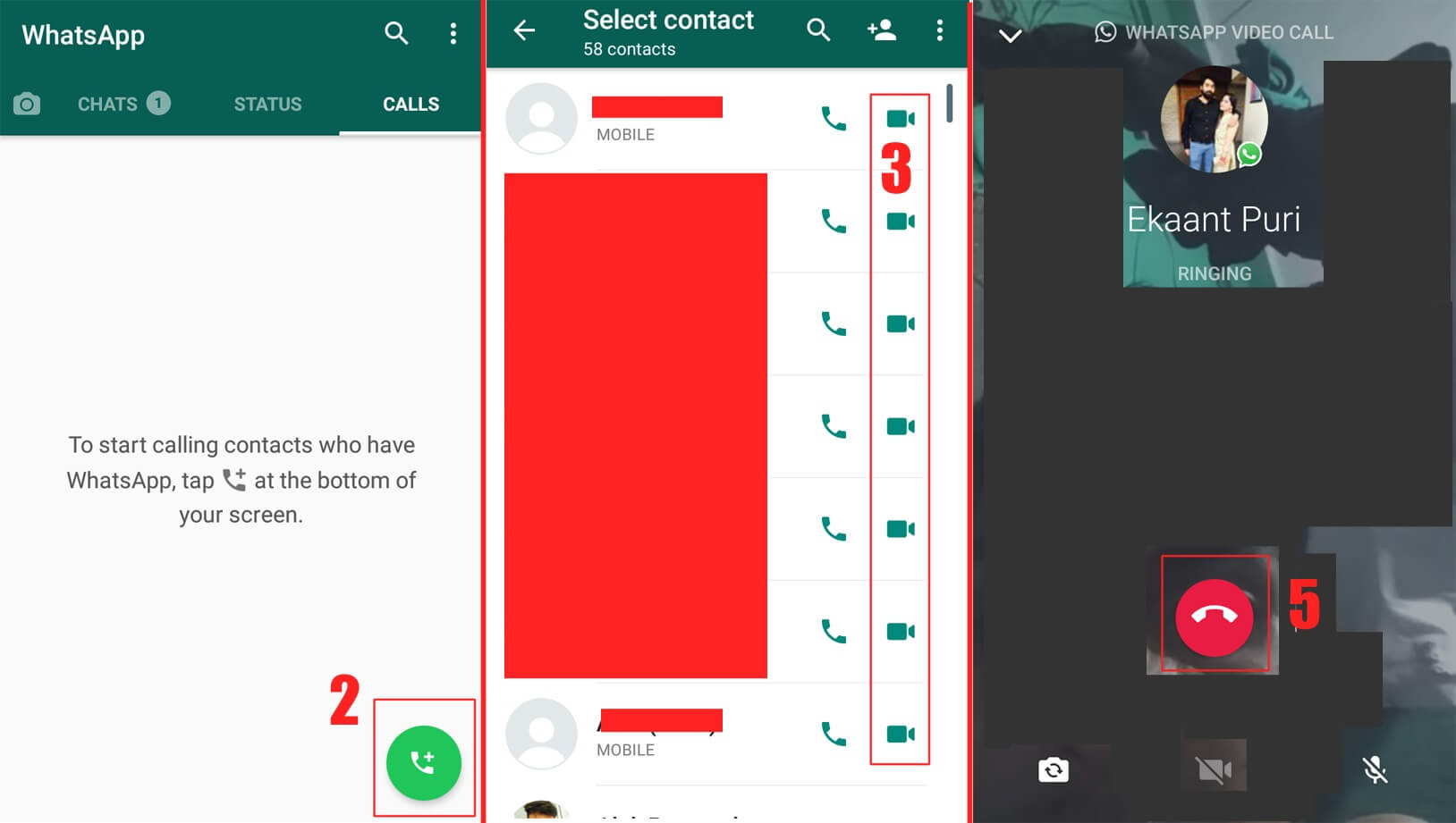 How to Use WhatsApp Video Calling – WhatsApp Video Call Data Usage