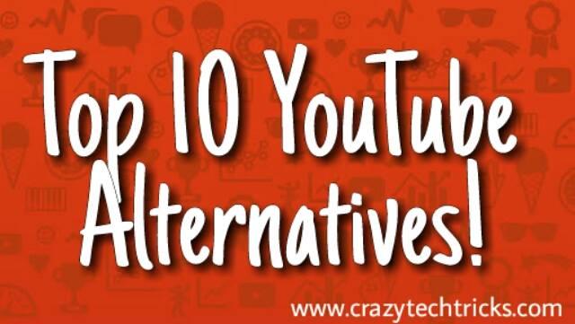 Top 10 Best YouTube Alternatives
