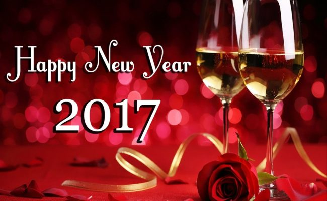 Happy New Year 2017 with love