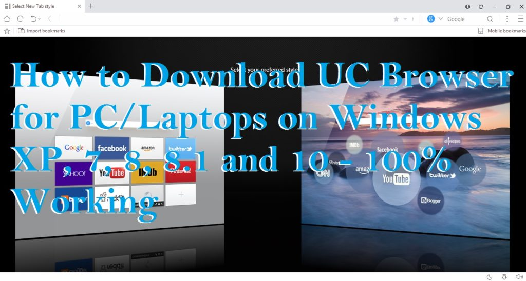 Download uc browser for pc (windows 7/8/xp) andy android.