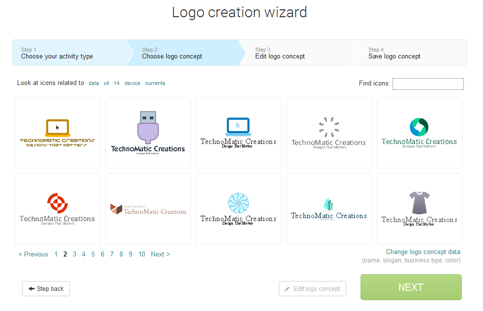 logaster redefining how logos are designed crazy tech