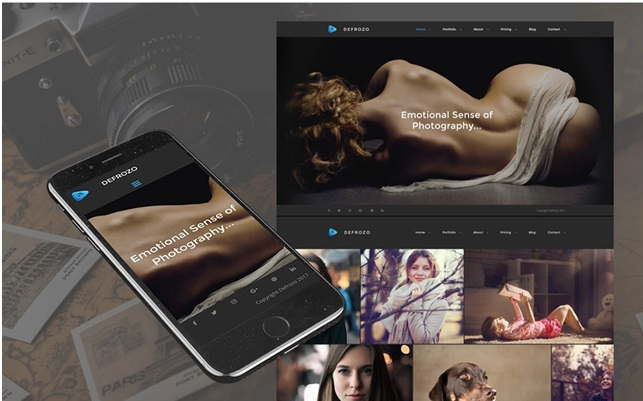 Best MotoCMS Templates for Photographer and Designers Overview
