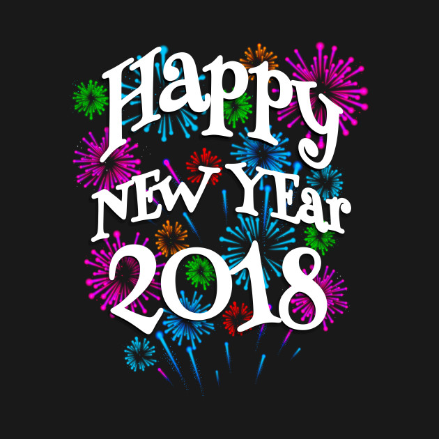 Happy New Year 2018 Awesome Creation