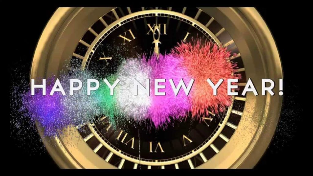 Happy New Year 2018 Roman Watch