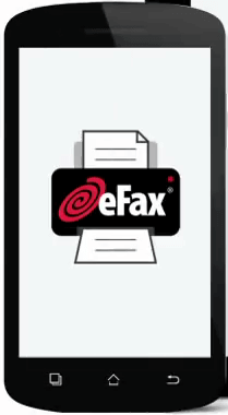 Download and Install the cool app which is eFax on your Android or iPhone - How to Send a Fax From My Phone - Android or iPhone