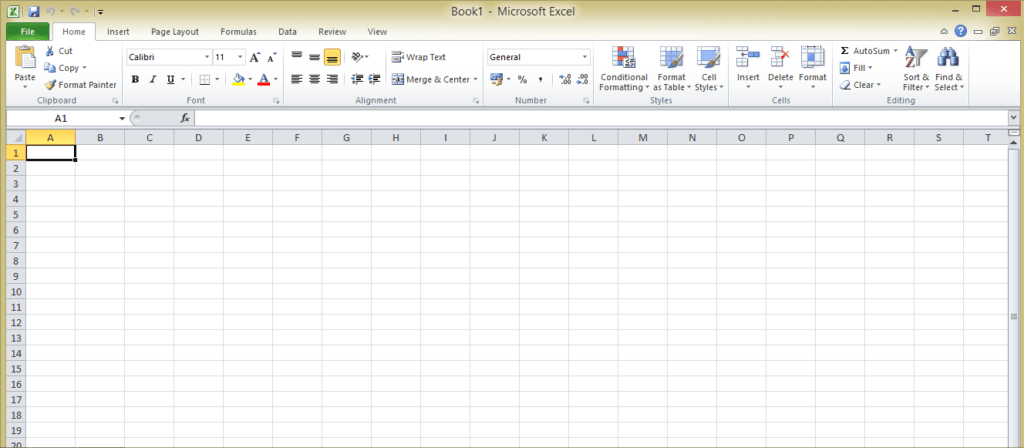 How to Make a Spreadsheet in Excel 2016, 2013 & 2007 Create in 5 Steps