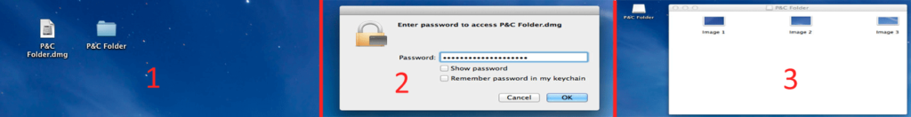 To access your password protected folder, just double click on the dmg file of that folder and enter your password. Simple - How to Password Protect Folder on Mac