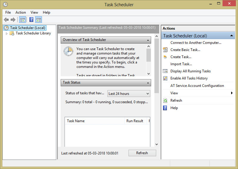Using Task Scheduler- After installing open it - How to Schedule Shutdown in Windows 10 - Top 5 Methods for Auto-shutdown PC-Laptop