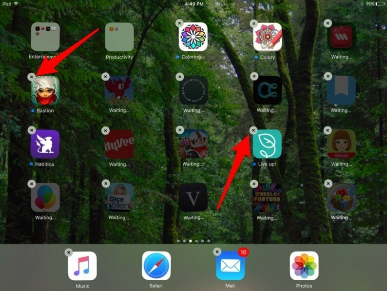 a confirmation box will pop up. Click on Delete - How to Delete Apps on iPad that Cannot be Deleted