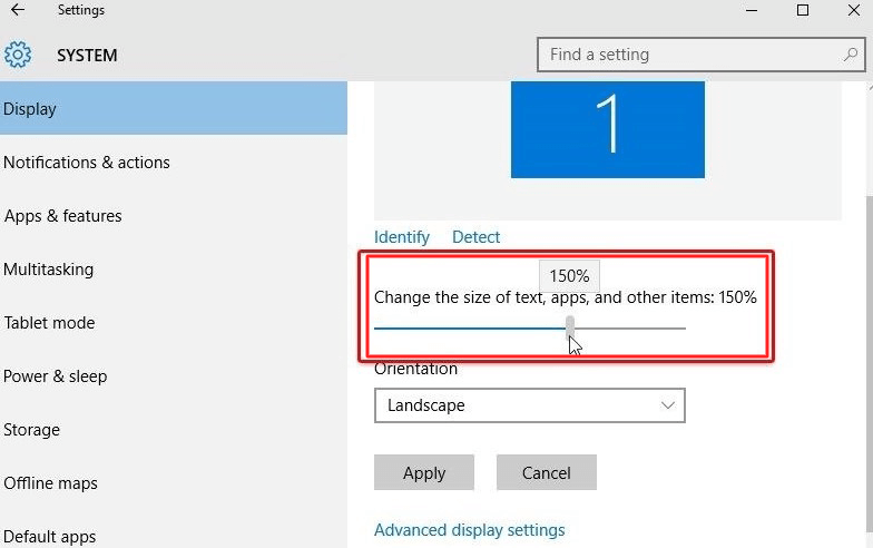 adjust the font size using it- How to Increase Font Size in Windows 10 Without any Software