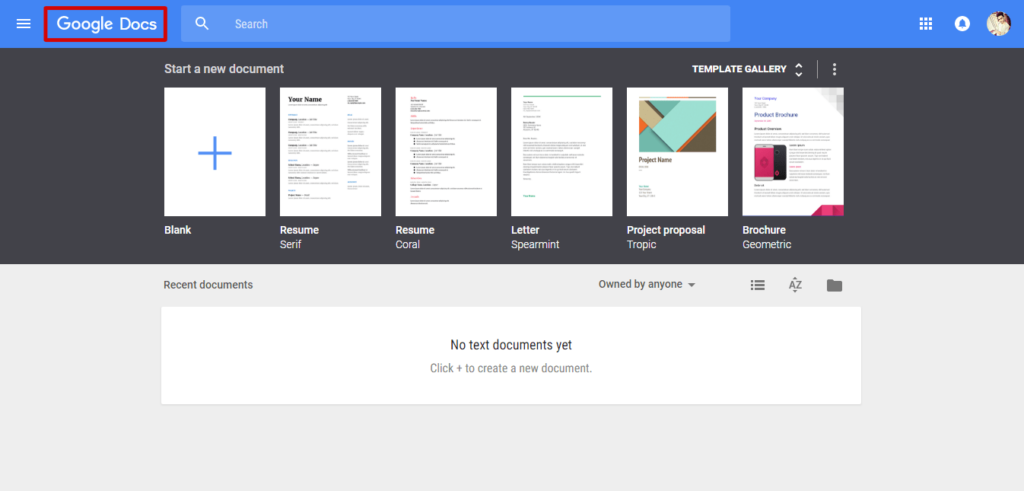 go the Google Docs website - How to Make a Spreadsheet in Google Docs - Best Method