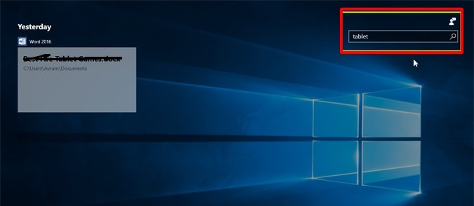 You can use the search box to search any timeline on the timeline page- How to Use Windows 10 Timeline on Your PC-Laptop