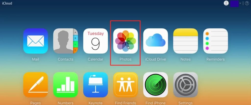 you will see Photos option, click on it - How to Delete Photos From iCloud – Best Method to Remove Photos-min