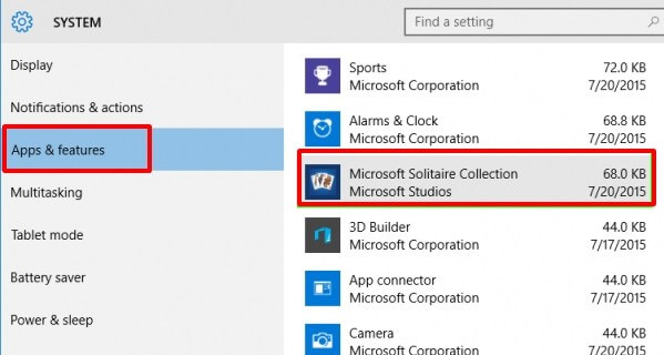 you will see a list of all installed programs on your Windows 10 PC. Click on anyone - How to Uninstall Programs in Windows 10