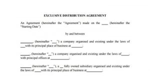 What a Trusted Exclusivity Agreement Contains