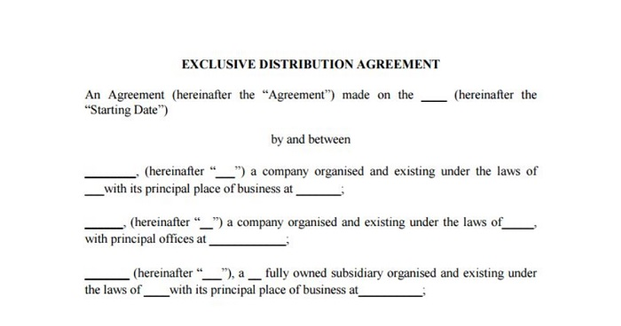 1_Exclusivity agreement