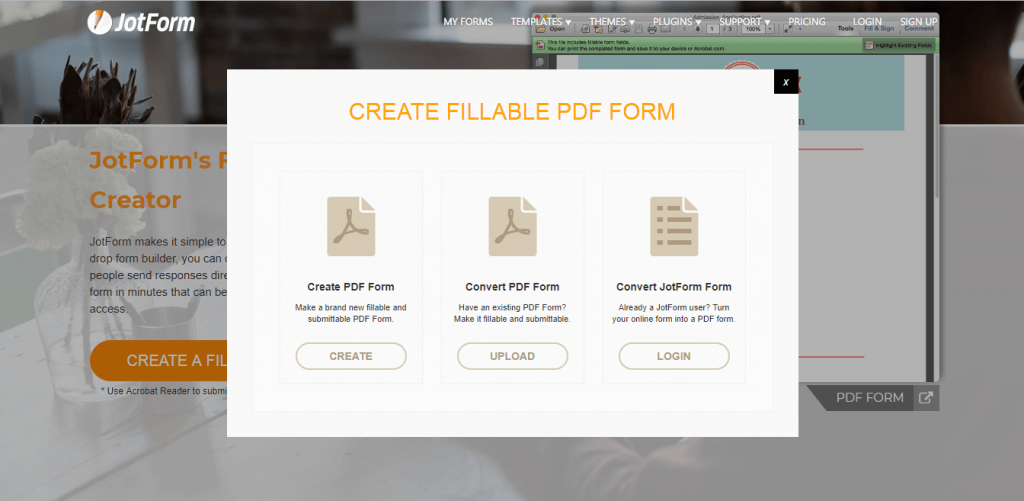 How to Make a Fillable Form in PDF – Using JotForm