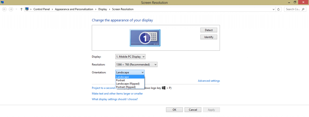 How to Rotate Screen on Laptop – Using Windows Display Settings