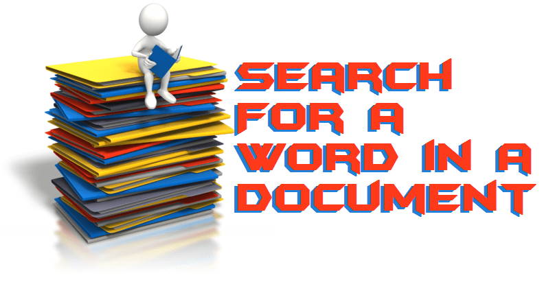 How to Search For a Word in a Document on Windows PC-Laptops