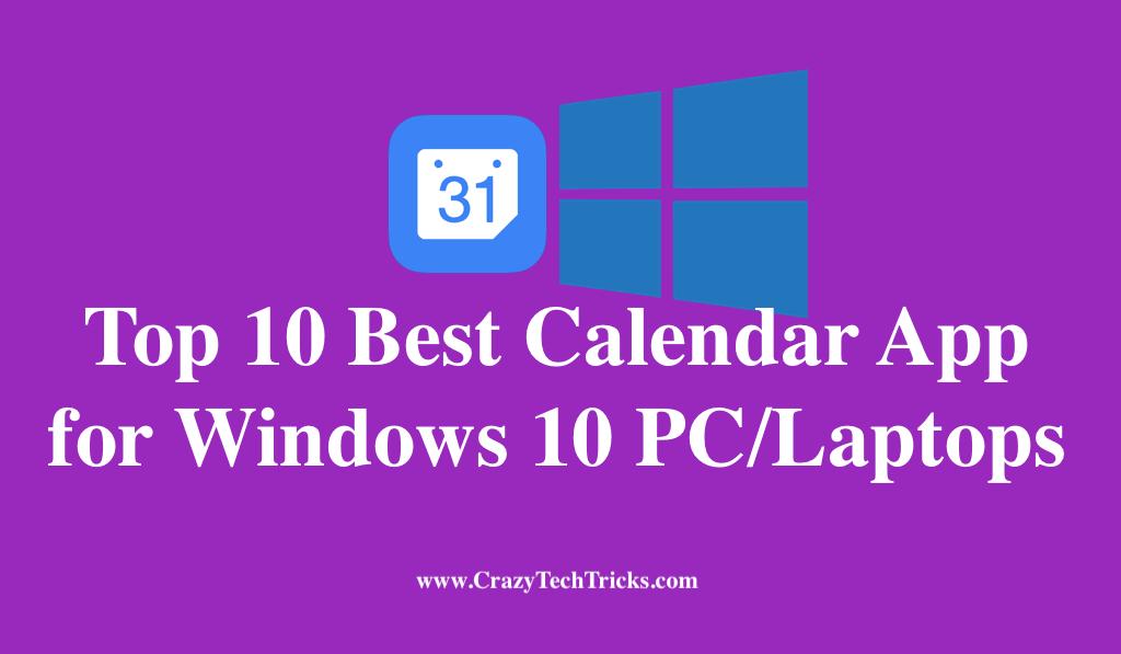 Best Calendar App for Windows 10