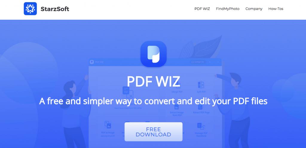 Convert Unlimited PDF using PDF WIZ