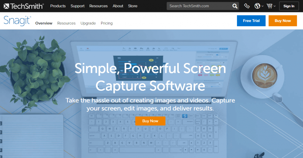 How to Take a Scrolling Screenshot on Windows 10 PC-Laptop – Using Snagit Software