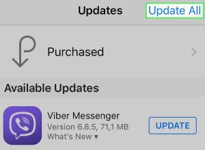 How to Update Apps on iPhone 2018- By Using App Store