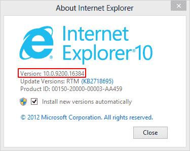 What Version of Internet Explorer Do I Have – Check Internet Explorer Version – Using Internet Explorer-min