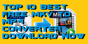 Top 10 Best FREE MKV to MP4 Converter 2019 – Must Check!