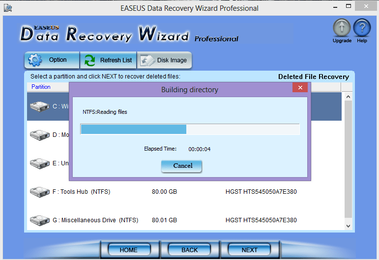 How to Recover Data from Deleted Partition - By EaseUs Software