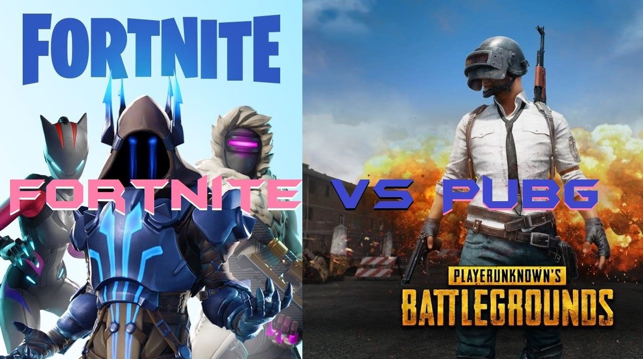 Fortnite vs PUBG - Which is Best to Play on Phone 2019