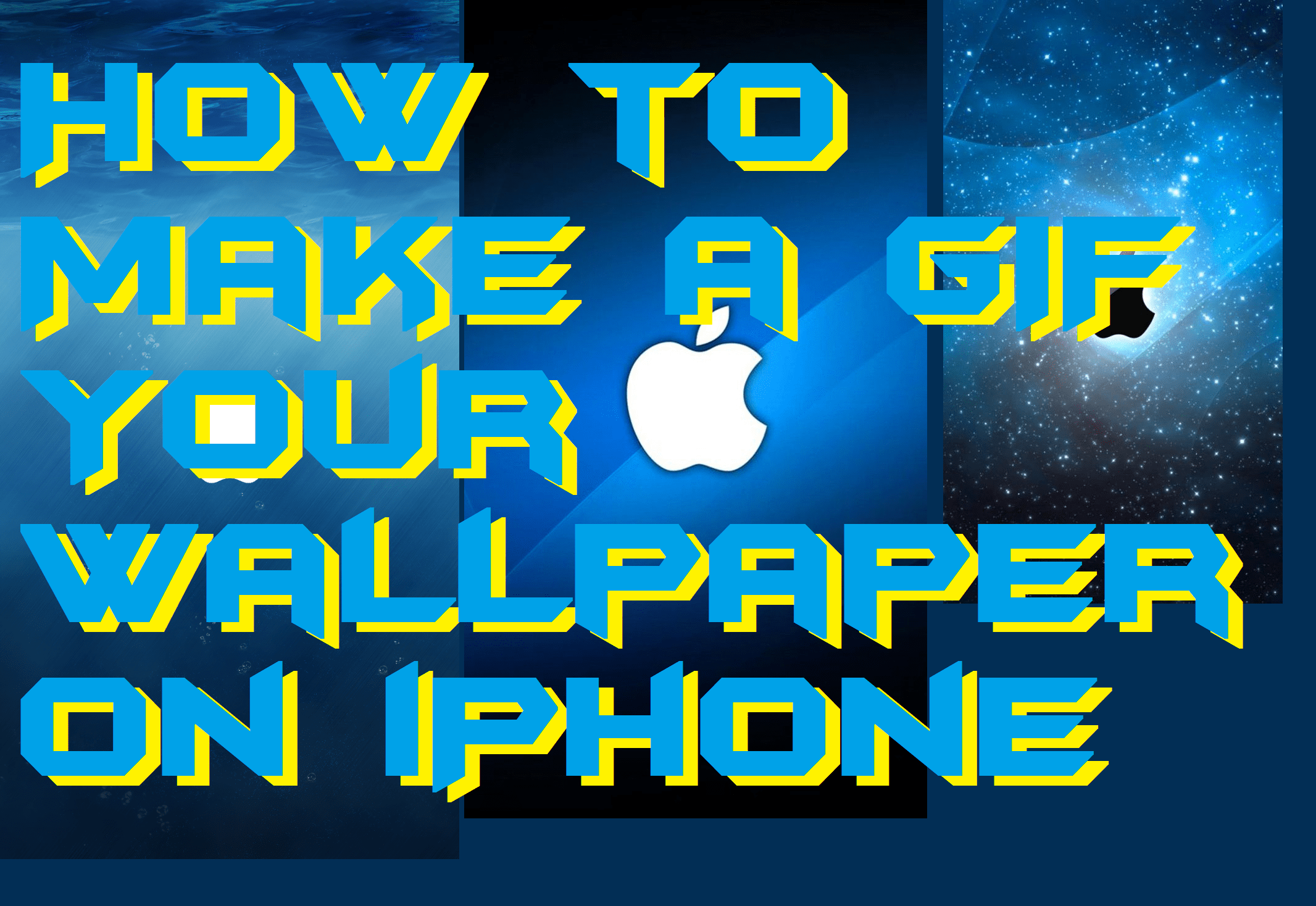 How to Make a GIF Your Wallpaper on iPhone - Live Wallpaper iPhone 7, 8