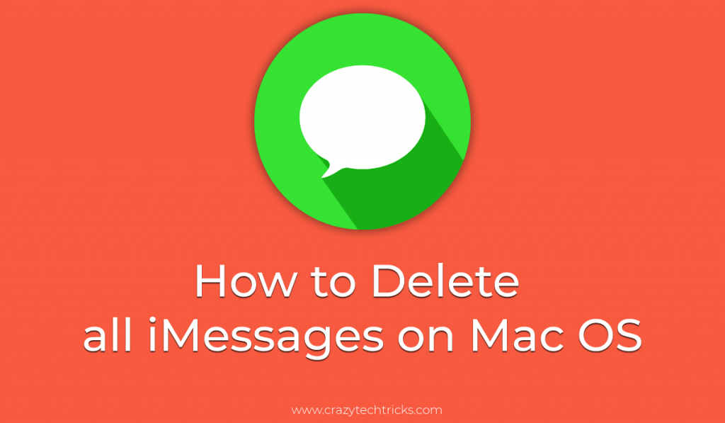 How to Delete all iMessages on Mac OS
